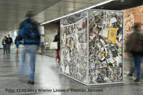 Statistiken verständlich kommunizieren: 17.09.2013 Wiener Linien / Thomas Jantzen