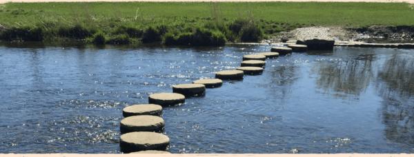 Checkliste als Trittsteine zum sicheren Ufer