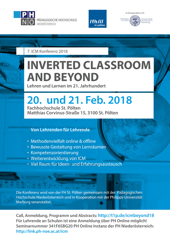 inverted classroom #icmbeyond18 Programm