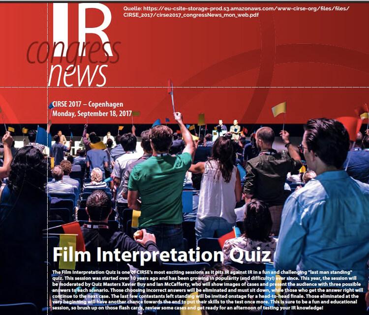 Aufmerksamkeit Quiz Event