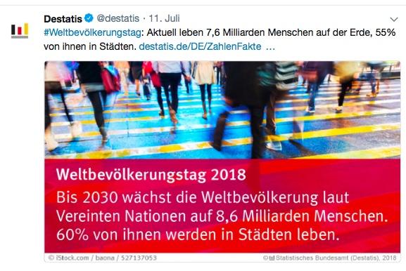 Statistiken kommunizieren Beispiel Statistisches Bundesamt (BRD